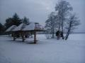 Zimowy krajobraz w Okunince
