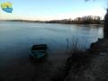 Łódka nad jeziorem Białym